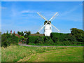 TQ2908 : Patcham Windmill by Simon Carey
