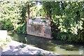 SU9946 : Demolished bridge over the River Wey by Ron Strutt