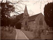 TQ1328 : Itchingfield, St Nicholas' Church by James 'Dan' Hall