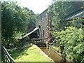 NY5636 : Mill Race, Little Salkeld by David Medcalf