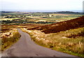 C5540 : Moneydarragh and road from Redcastle to Gleneely by Corinna Schleiffer