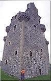 HU4039 : Scalloway Castle by David Wyatt