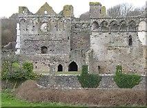 SM7525 : Bishop's Palace, St David's by Humphrey Bolton