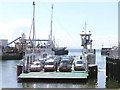 C6440 : Foyle ferry at Greencastle Co. Donegal by Kenneth  Allen