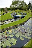 SJ6651 : Stapeley Water Gardens by Andrew Huggett