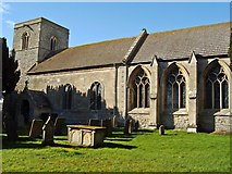 SK7645 : Church of St. Peter, Sibthorpe by Christine Hasman