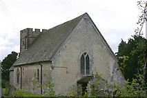 TR1148 : St Bartholomew's church, Waltham, Kent by Roy Gray