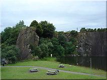 NS7177 : Auchinstarry Quarry, Kilsyth by paul birrell