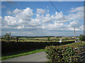 SP1247 : Fields near Pebworth by Dave Bushell