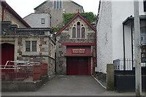 SX3384 : Launceston Old Fire Station 2 by Kevin Hale