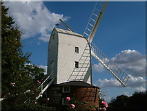 TL7625 : Bocking Post Mill, Bocking Churchstreet, Braintree by Brenda Howard