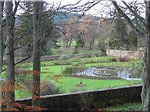 NJ1736 : Balindalloch Castle walled garden. by Johnny Durnan
