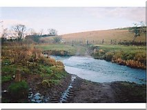 NU0004 : Ford through Wreigh Burn, near Snitter Windyside by Andrew Smith