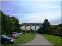 TL8928 : Chappel Viaduct, Near Wakes Colne, Essex by Brenda Howard