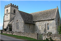 SO8625 : St Catherine's Church, The Leigh by Philip Halling
