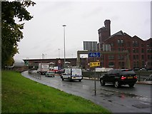 SJ8297 : Wet Day in Manchester! by Keith Williamson