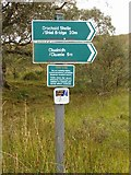 NH1101 : The path to Cluanie from Glen Garry by Patrick Mackie