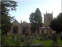 SJ7744 : Madeley Church by Iain McDonald