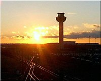 TL5523 : Stansted New Control Tower by Edward