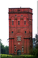 TM5084 : Water tower on Benacre Estate, Suffolk by Nat Bocking