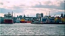 NJ9505 : Aberdeen Harbour by Patrick Mackie