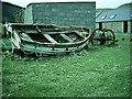 NR7204 : Sanda Island farm and dwellings, Mull of Kintyre. by Johnny Durnan