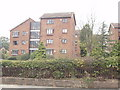 TQ2286 : Flats in Dollis Hill Lane by David Hawgood