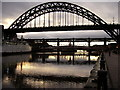 NZ2563 : Tyne Bridges by Clive Nicholson