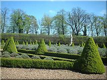 TQ1773 : The Cherry Garden at Ham House by Peter Jordan