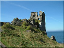 NS2515 : Dunure Castle by Ian Knox