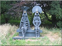 SK4378 : An handsome couple survey the countryside by Dennis Thorley