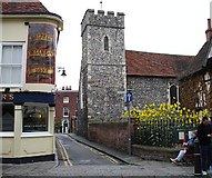 TR1458 : St Peter's Church, Canterbury by Penny Mayes