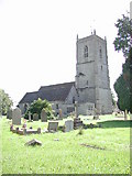 ST6976 : Pucklechurch (Glos) St Thomas a Becket church by ChurchCrawler
