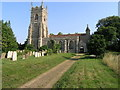 TM4679 : Wangford (nr Southwold, Suffolk) SS Peter & St Paul's Church by ChurchCrawler