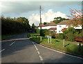 TQ4359 : Single Street, Berry's Green TN16 by Philip Talmage
