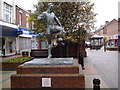 NZ2787 : Milburn Statue by MSX