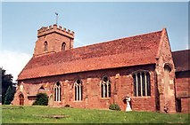 SO8483 : St Peter's Church, Kinver by Alex Cameron