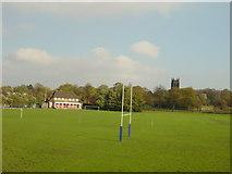 SJ3987 : Geoffrey Hughes Memorial Ground by Sue Adair