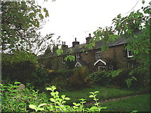 SD6123 : cottages Withnell Fold by Charles Rawding