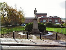 SD6311 : War Memorial at Horwich by Roger May
