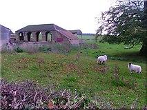 NZ2218 : Barn at Castle Farm by Mick Garratt
