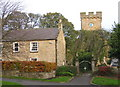 NZ1855 : The tower of St Margaret's, Tanfield by Alan Fearon