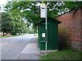 NZ3010 : Bus Shelter, Hurworth-on-Tees by mark harrington