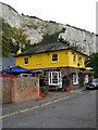 TQ4210 : Snowdrop Inn, South Street, Lewes by Simon Carey