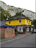 TQ4210 : Snowdrop Inn, South Street, Lewes by Simon Carey