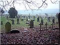 NZ3243 : The Churchyard, Hallgarth Church by Uncredited
