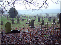 NZ3243 : The Churchyard, Hallgarth Church by Uncredited
