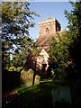 SJ4810 : Holy Trinity Church, Meole Brace by David Gruar