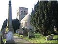 NY1133 : St Bridgets Church Bridekirk. by John Holmes