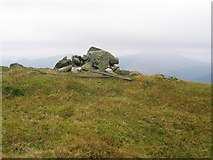 NN3002 : Summit cairn, Ben Reoch. by Richard Webb